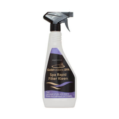 Spa Rapid filter cleaner