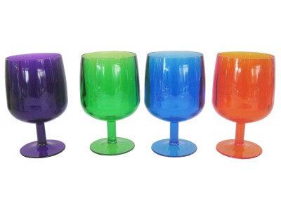 Set 4 wine goblets