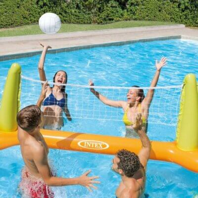 Pool Volleyball Game