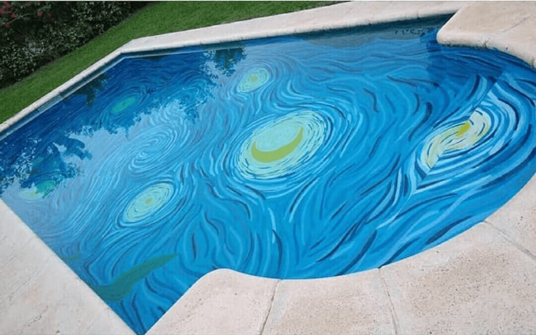 A Starry Night in your Swimming Pool