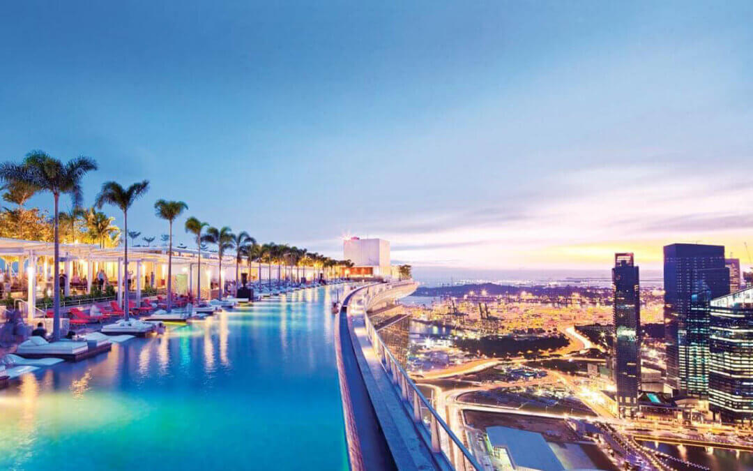 Top 10 Most Amazing Rooftop Swimming Pools